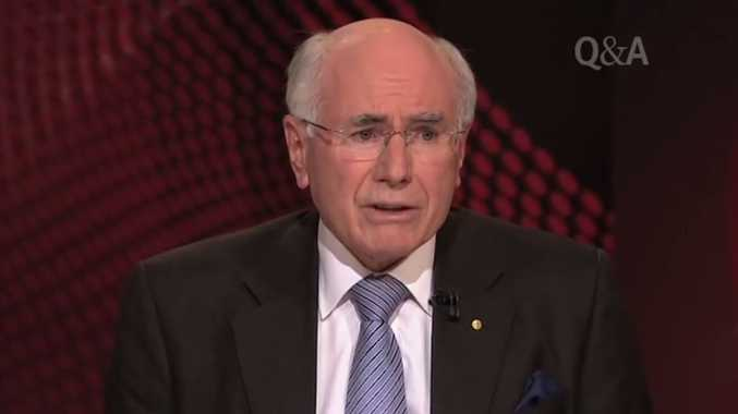 Former Prime Minister John Howard's voice  reminds me of people calling for the