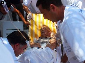 Gunman storms beach resort killing at least 37 people