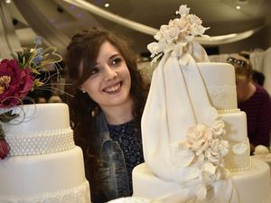 Brides-to-be check out latest wedding trends at expo