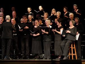 Singers present Gallipoli tribute