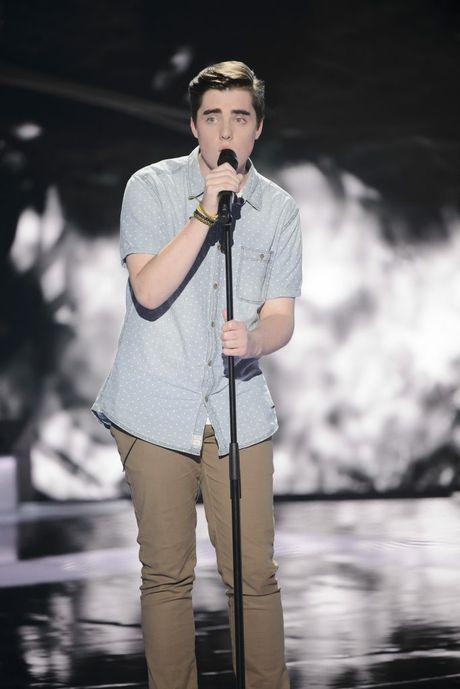 The Voice Australia contestant Nicholas Duquemin.