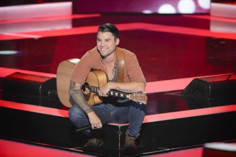 The Voice Australia contestant Chris Hoskin.