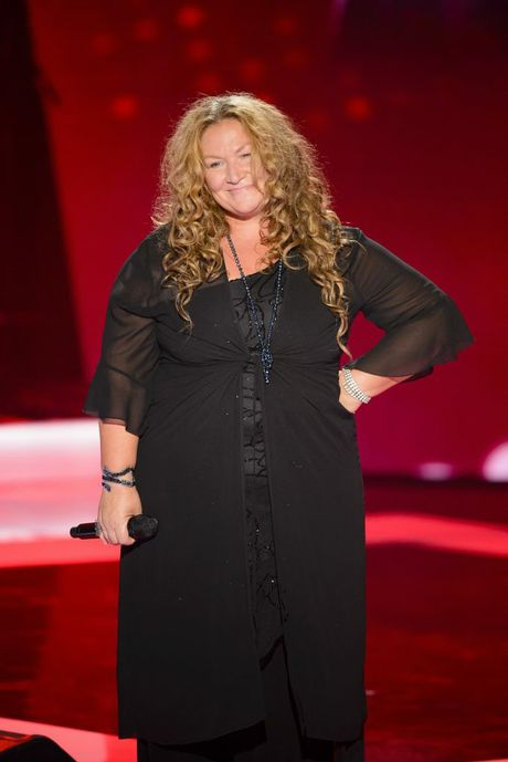 The Voice Australia contestant Gail Page.