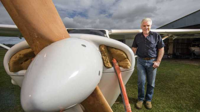 BETTER RECEPTION: Local pilot Richard Szlicht believes the increase in mobile phone reception will not affect pilots' flying ability but will keep them better connected in remote locations.