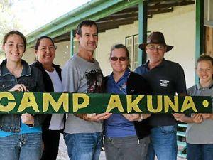 Volunteers restoring Camp Akuna after 10 dormant years