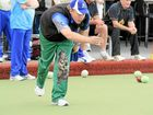 ROLL ON UP: Mooloolaba Fours tournament winner Robert Wild.