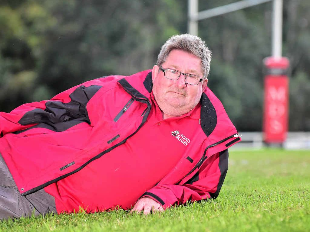 GREEN PAYS: Nambour Toads Rugby Union Club president, Dan Parry is proud of his turf, after the ex-land fill site gained organic certification.