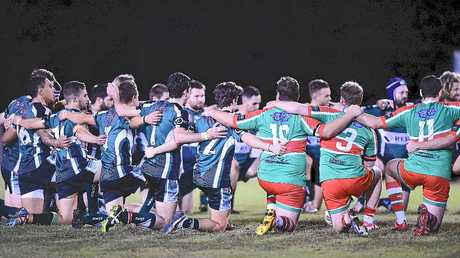 TRIBUTES: Local teams, including Maroochydore and Nambour's division one sides, honoured James Ackerman's life through a series of initiatives played out on suburban grounds.