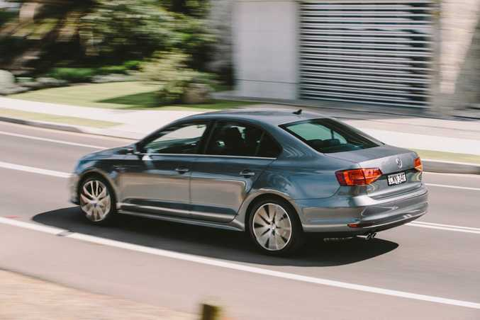 SENSIBLE DIESEL: Jetta 103TDI returns a quoted 5.5-litres/100km and costs from $36,990 drive away. Jetta range starts at $21,990 drive away.