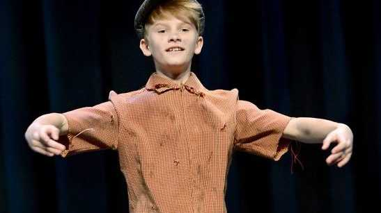 Jack Jones in the Character/Demi-Character Dance Section at the Ipswich Junior Eisteddfod.
