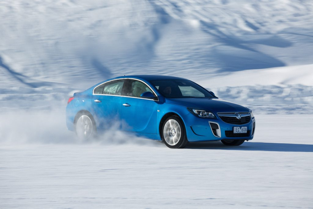 ICE DREAMS: Insignia VXR has intelligent all-wheel drive system making it a talent on road or ice