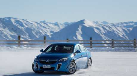 ICE DRIFTER: New Zealand's Southern Hemisphere Proving Ground helped show off intelligent all-wheel drive in action