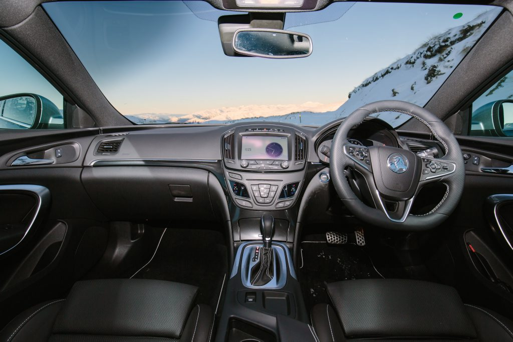 FEATURE PACKED: A pair of 8-inch display screens feature while Holden's next gen MyLink arrives.