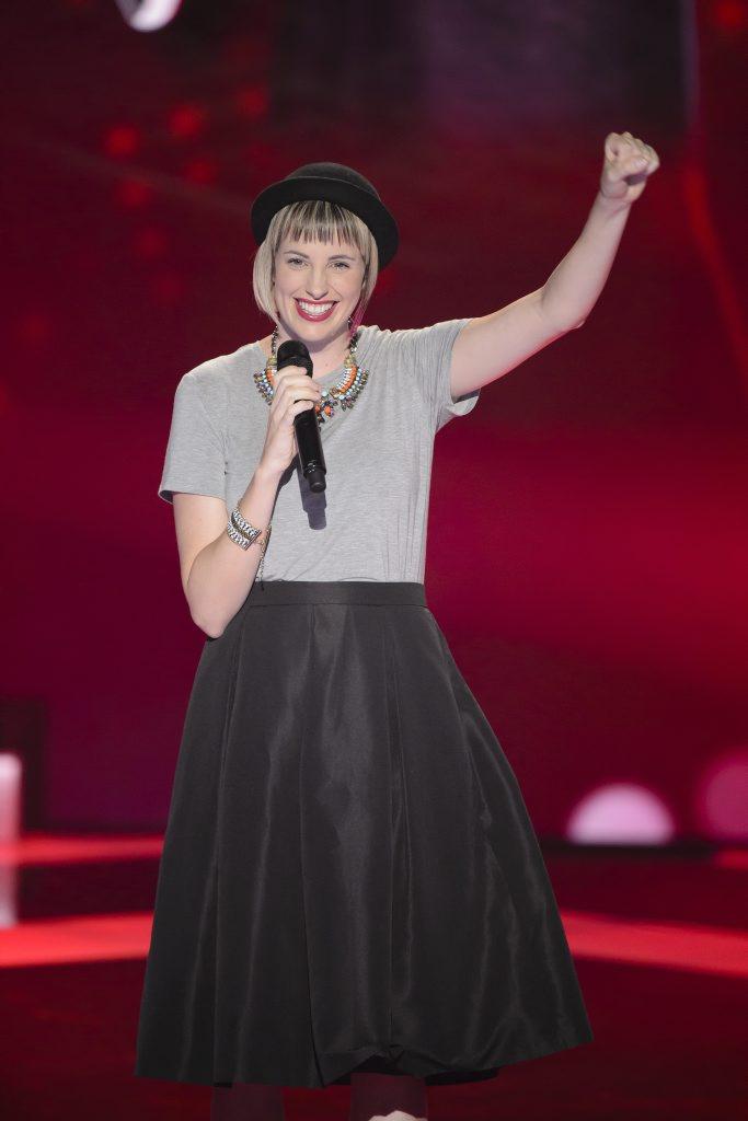 The Voice Australia contestant Amber Nichols.