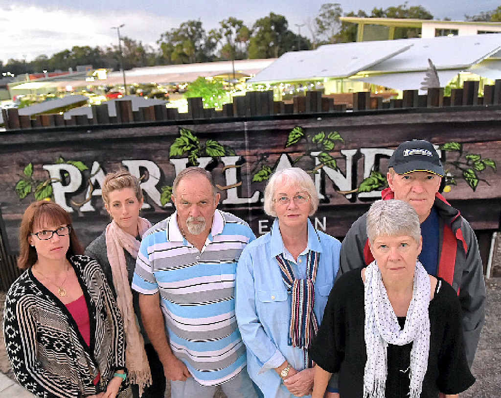 SHHHHHH: A group of residents are concerned by a proposed increase to noise levels at the Parklands Tavern.