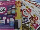 Ways to save money, store brochures. Photo Bev Lacey / The Chronicle