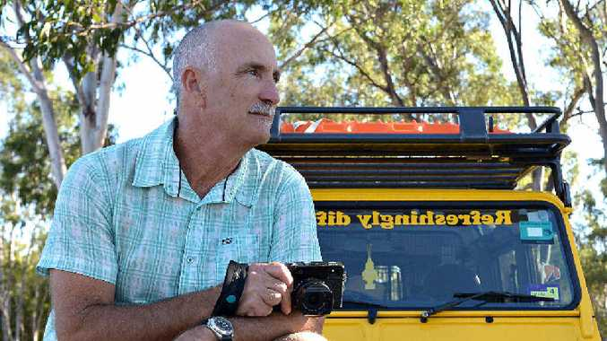 HAPPY TO HELP: Bundaberg photographer Paul Beutel is giving his time to help with Yaraka's tourism campaign.