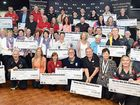 SUPPORT: The Hervey Bay RSL hands out funding to community groups.