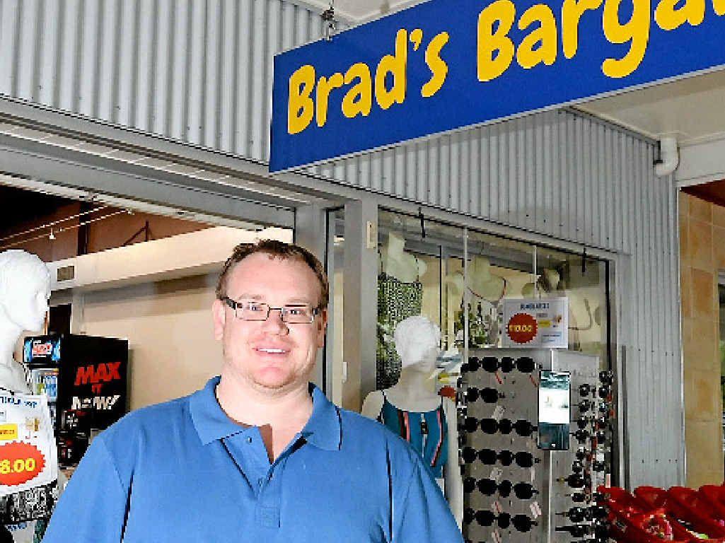 SMART SAVINGS: Owner of Brad's Bargain Box Brad Walton talks about his love of bargains.