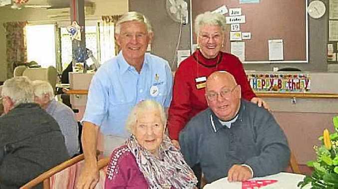 BIRTHDAY GIRL: Marguerite Flouskos recently celebrated her 100th birthday.