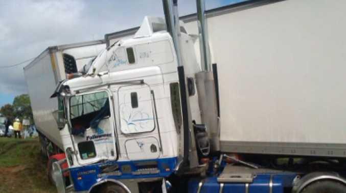 Crash on Mackay-Eungella Rd