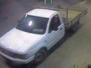 Have you seen this ute? Police hunt gun wielding driver