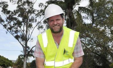 INFRASTRUCTURE MONEY: Byron Shire Mayor Simon Richardson