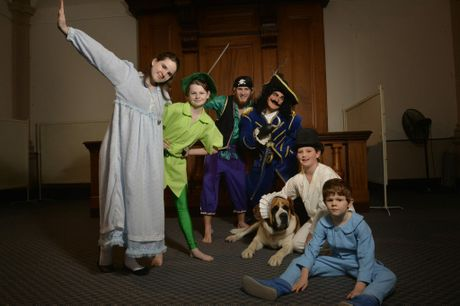 Ipswich Musical Theatre Company Juniors present Peter Pan on July 2-5. Photo Inga Williams / The Queensland Times