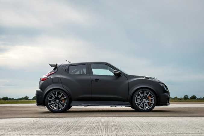 NO CHANCE: Sadly Nissan won't be selling Juke-R baby Godzillas at its showrooms