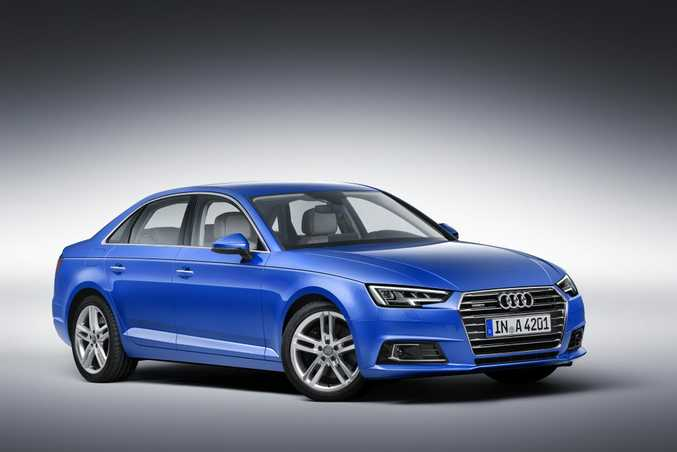 ALL NEW: A4 sedan and Avant arrive in Australia sometime in 2016.