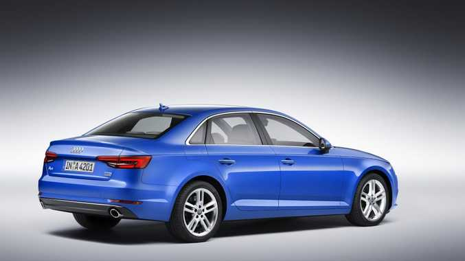 SLIPPERY: With a drag coefficient of just 0.23, the new A4 will be one of the most aerodynamically efficient production cars ever seen.