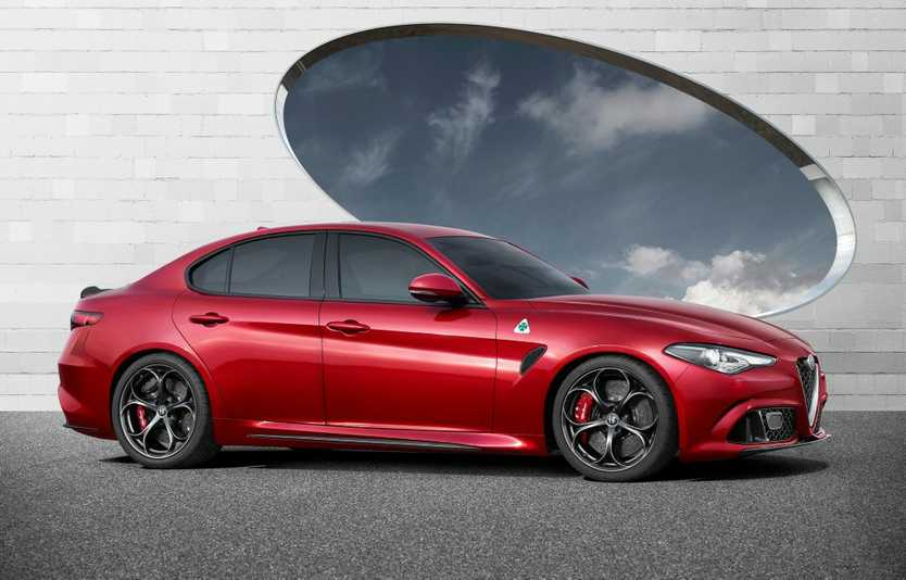 LIGHTWEIGHT: Extensive use of carbon and aluminium gives the Quadrifoglio a superb power to weight ratio