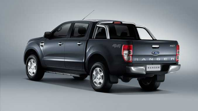 STAYING COMPETITIVE: Rivals for the Ranger are many, so Ford has needed this mid-life refresh