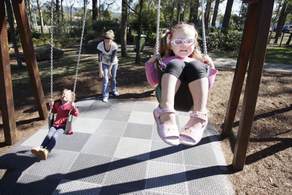 Pioneer Park at Landsborough is popular with families.