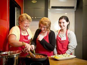 PHOTOS: Jamie's ministry brings tasty new food skills