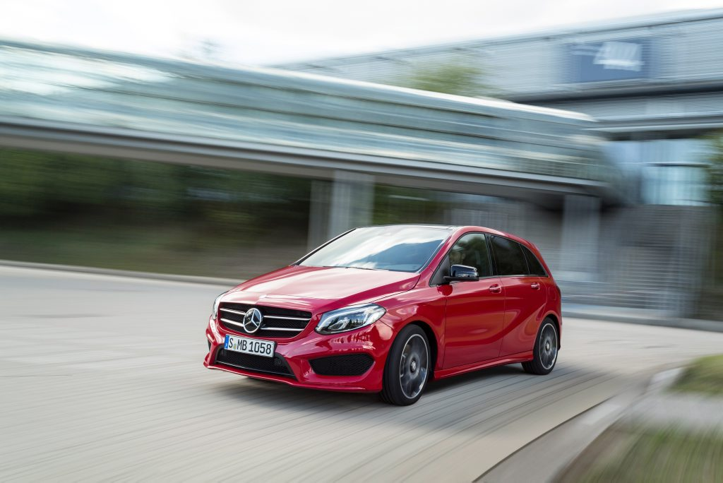HATCHBACK FIGHTBACK: B-Class has the space to rival SUV offerings and proves the most practical of all Merc's current crop of small cars