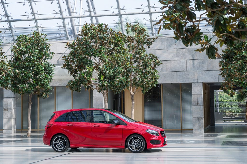 2015 Mercedes-Benz B250 Photo: Contributed