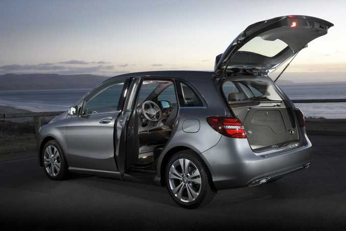 NO TO SUV? If you want a practical car rather than an SUV the B-Class has its appeal