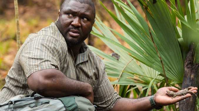Nonso Anozie in a scene from the TV series Zoo.