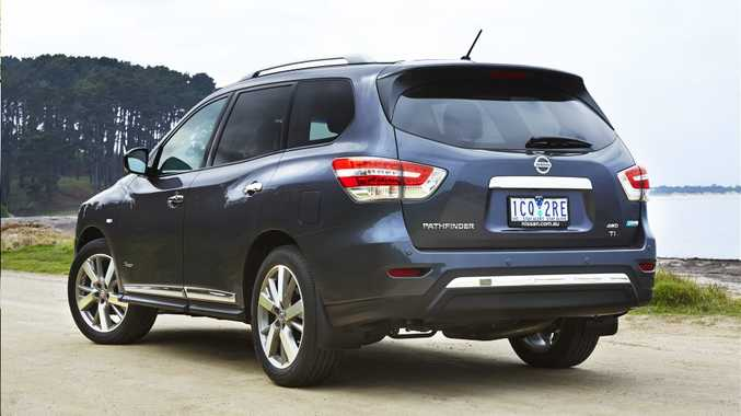 A NEW PATH: A drive for lower fuel bills has led to a hybrid variant for Nissan's large seven-seat Pathfinder SUV.