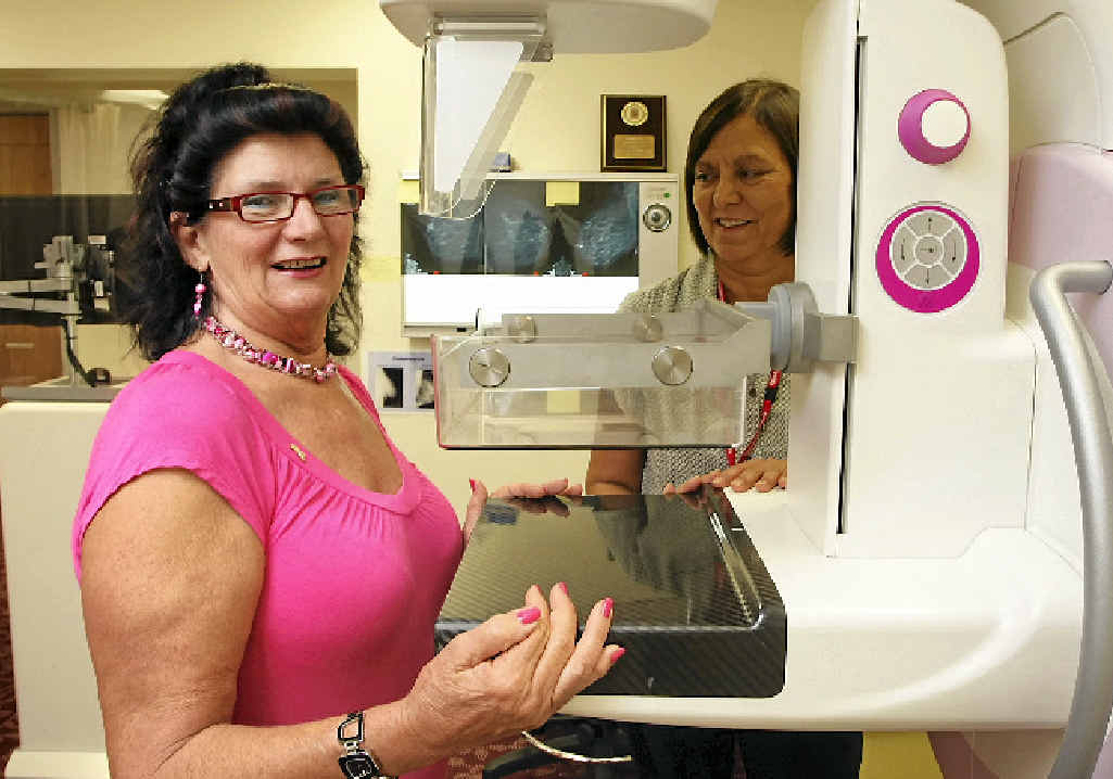 BREAST CHECK: Gympie women are being urged to check their breasts between screenings to help reduce the risk of cancer.