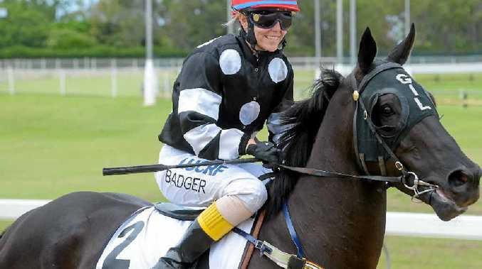 RACE DAY: Alannah Badger is in good company in being a successful female jockey launch her career at the Gympie racecourse .