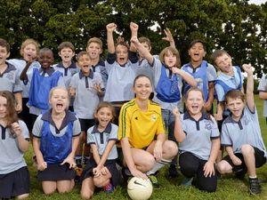 Silkstone soccer kids inspire coach