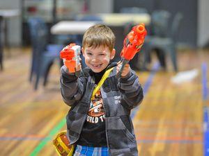 Laser tag holiday fun at the PCYC