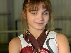 Gymnast Kirsten Burger