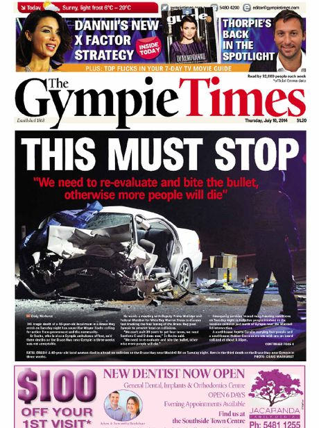 CAMPAIGN: This is how The Gympie Times campaigned to fast-track the upgrading of the Bruce Hwy.