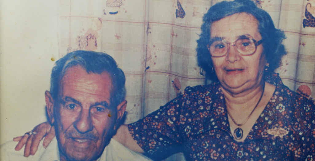 PROUD PARENTS: The late Nazzareth and Concetta Ellul thought their son Manny and three of his brothers had died on the way to Australia in 1960. Manny reunited with his mum in Malta in 1995 with tears of joy.