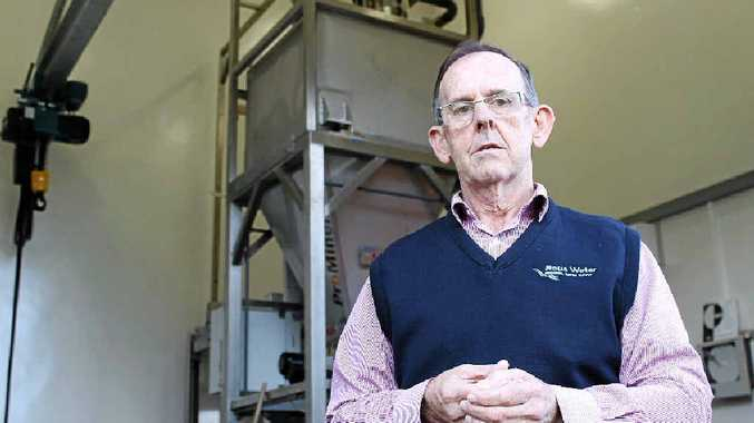 NEUTRAL STANCE: Wayne Franklin, Rous Water's technical services director, inside the Corndale fluoridation plant.