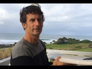 Shark attack survivor Michael Hoile