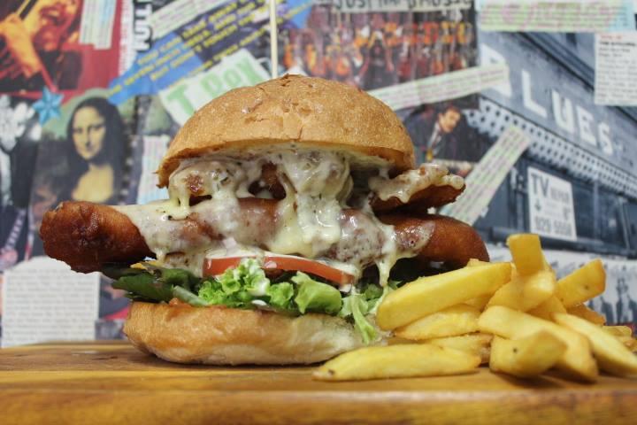 Off The Track Big Reefa Burger-fish  Photo: Facebook